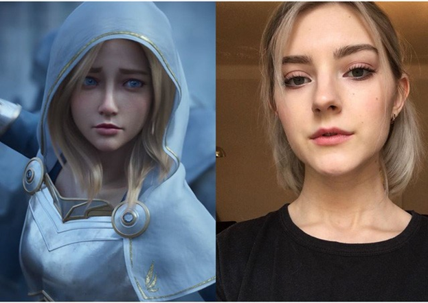 League of Legends: Lux's Real-life Version is An Adult Movie Actress 3