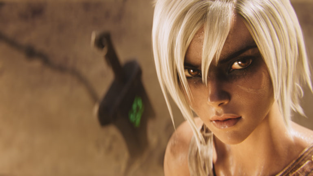 League of Legends: Players redesigned the Riven model in the game as beautifully as it was in the Awaken MV 2