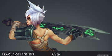 League of Legends: Players redesigned the Riven model in the game as beautifully as it was in the Awaken MV 8