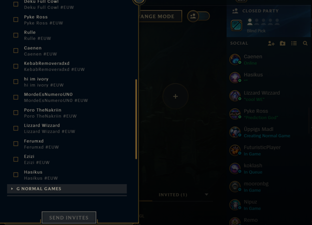 League of Legends: Currently, the League of Legends client has nearly 60 different bugs 8