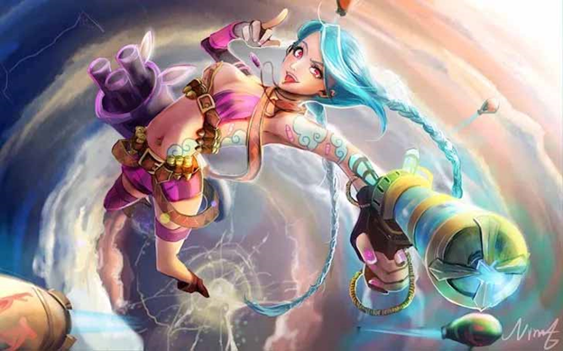 League of Legends: The Reason Behind Jinx's Flat Chest, Ekko Used to Have a Crush on Jinx and More Facts You Might Not Know about Her 3
