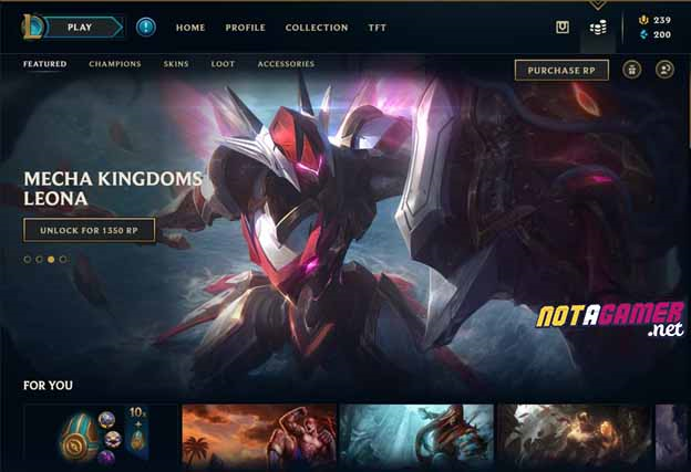 League of Legends: New Shop UI ?! - The first signs that Riot Games will remake League of Legends Client ? 3