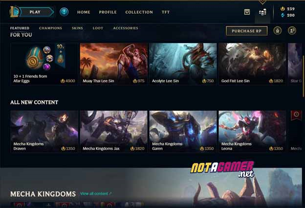 League of Legends: New Shop UI ?! - The first signs that Riot Games will remake League of Legends Client ? 4