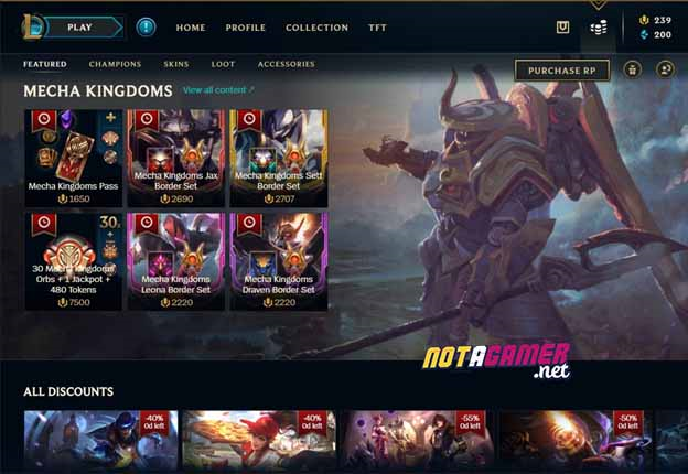 League of Legends: New Shop UI ?! - The first signs that Riot Games will remake League of Legends Client ? 1