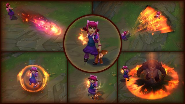 League of Legends: VFX Updates for Annie and Nautilus 2