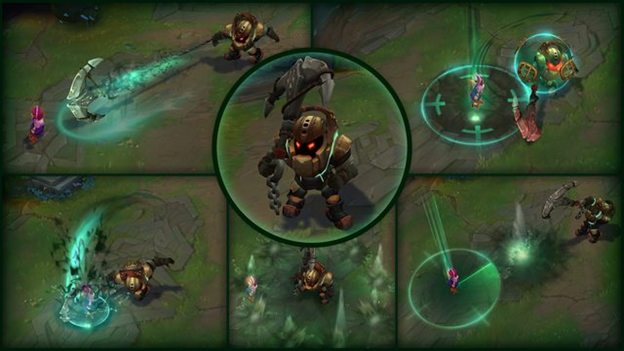 League of Legends: VFX Updates for Annie and Nautilus 4