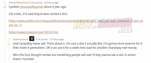 League of Legends: Skins rental is it really necessary? Should Riot Games remove it or not? 4
