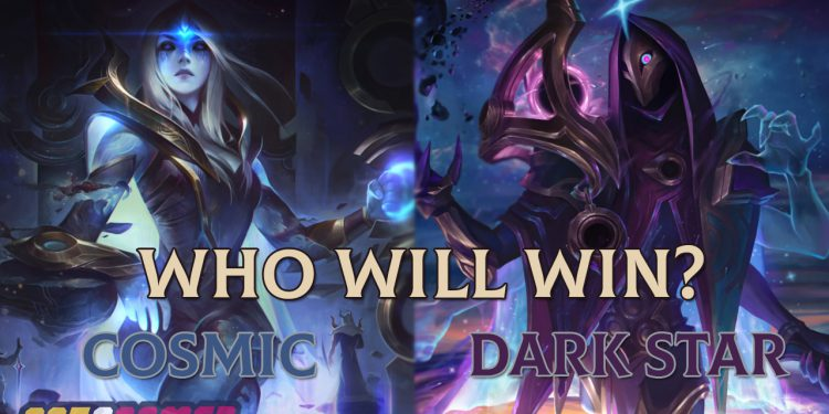 Leitmotiv and skins of the 2020 Events inspired from Dark Star vs Cosmic 1