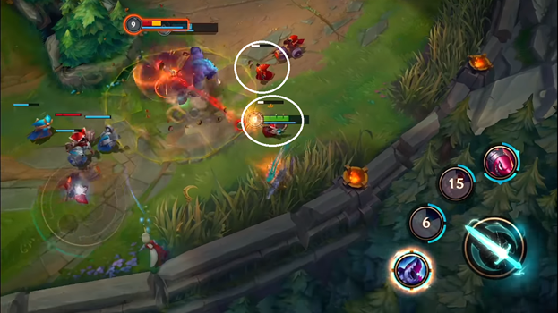 LoL Wild Rift: Ward mechanism and last hit through extremely understandable images 2