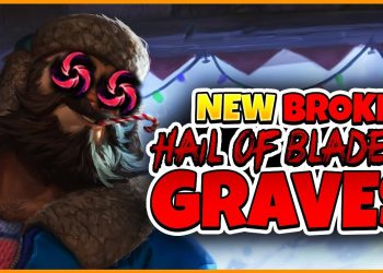 Hail of Blades for Graves-New OP build by Suning SofM 8