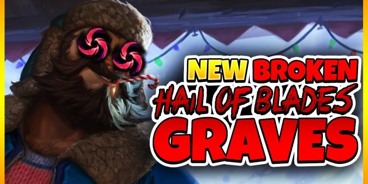 Hail of Blades for Graves-New OP build by Suning SofM 1