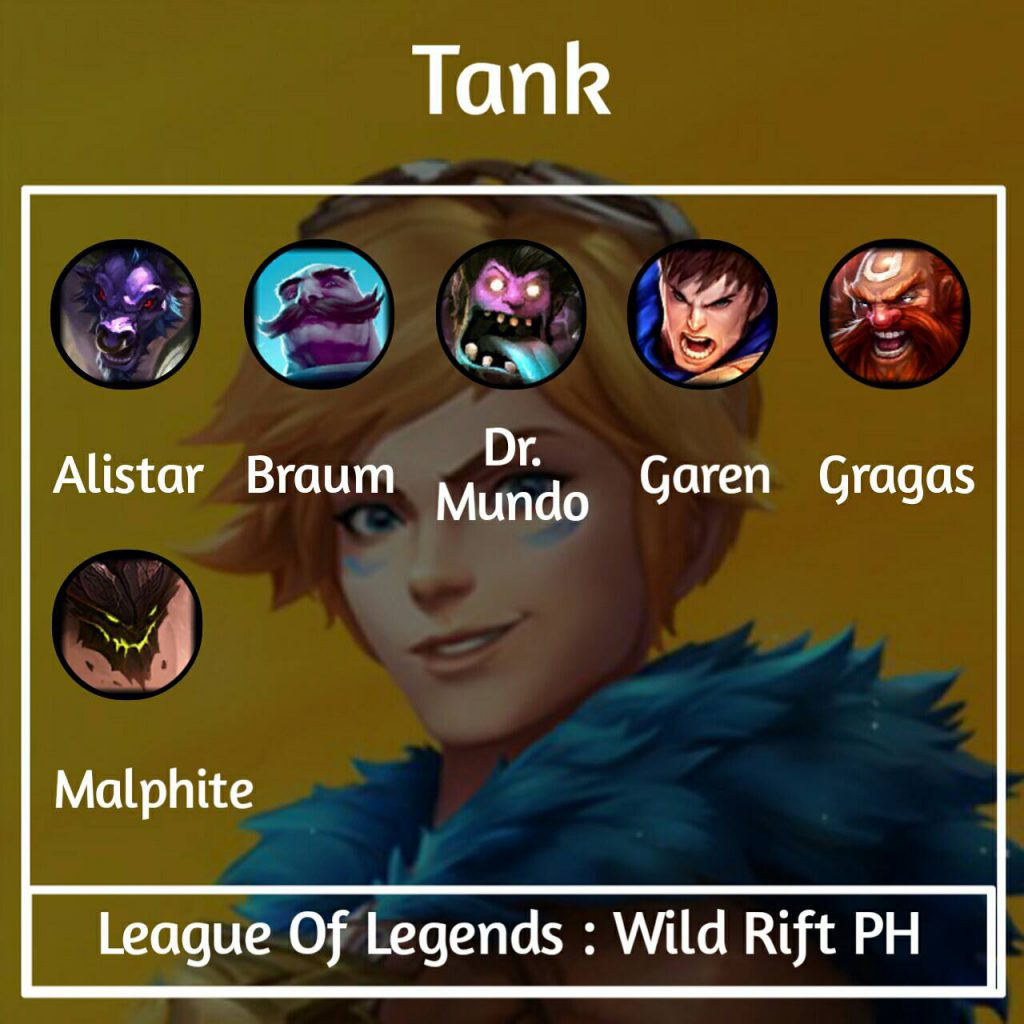 Wild Rift will be divided into six champions class LoL. 2