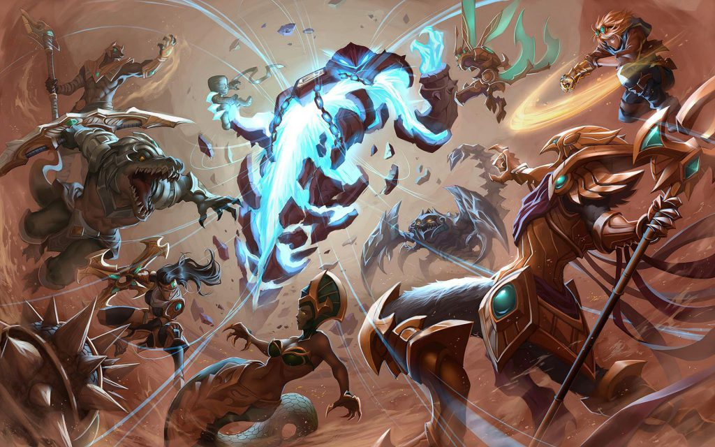 "TOP 5 champions have been buffed in patch 10.6: Mid lane champions began to be ""favored"". 5"