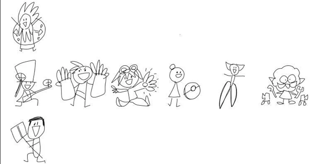 What if the images of LoL champions were designed by ... a 5-year-old child - All champions fanart 2020 2