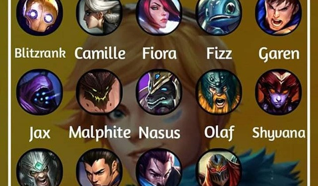 Wild Rift will be divided into six champions class LoL. 1