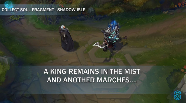 Swain predicts that the Ruined King is still alive? 12