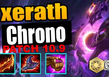 New Xerath Chrono Rework patch 10.9 TFT - HYPER ATTACK SPEED XERATH 1