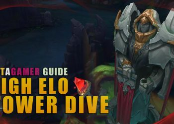 How to TOWER DIVING like high ELO players Part 1 2