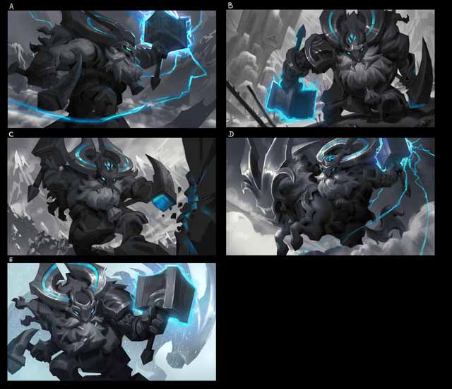 What does Ornn's heritage include? 3