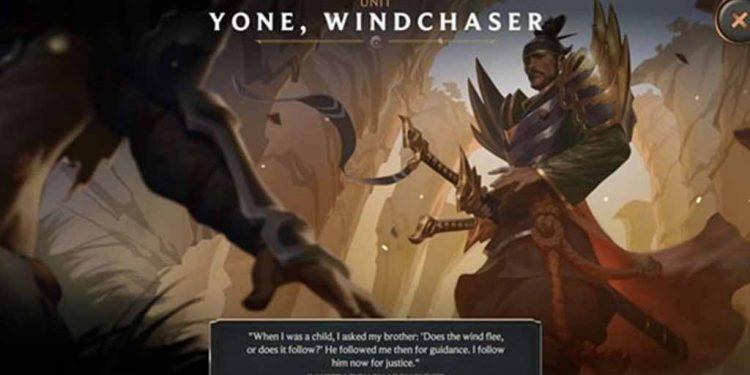 Riot Games implies that Yone will be the next champion - Yone Champion 1