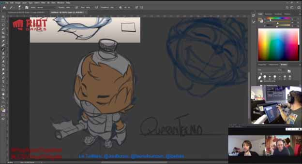 Get ideas and stream the process of creating the Isolation Teemo skin 1