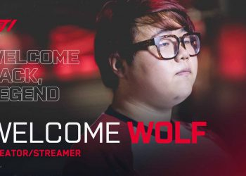 Wolf officially returned to the T1 - Wolf Comeback T1 5
