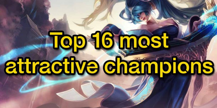 Top 16 most attractive champions in the East and the West 1