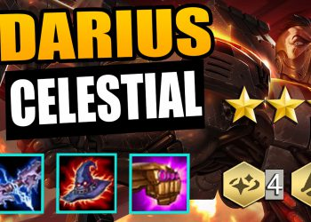 Guidelines for building Darius Celestial comp patch 10.8 TFT season 3 4