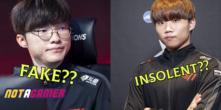 """Shock: Faker and Canna are criticized by LPL fans as """"fake, insolent"""", suspected for mocking China as """"pandemic"""" 1"""