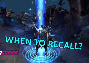 When to RECALL in League of Legend 1