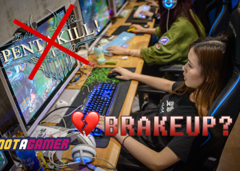 Tragicomedy: The gamer wants to break up with his girlfriend for stealing his Pentakill 1