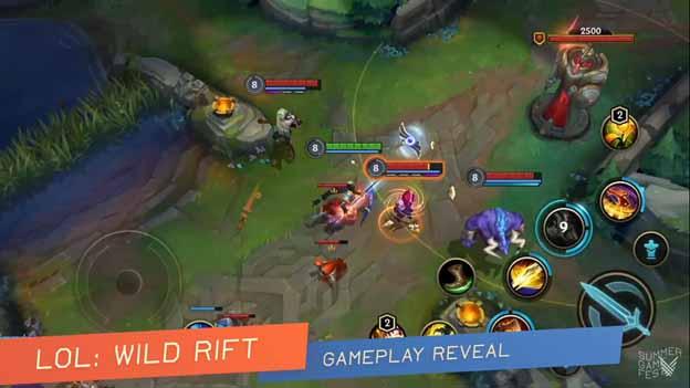 Wild Rift Gameplay
