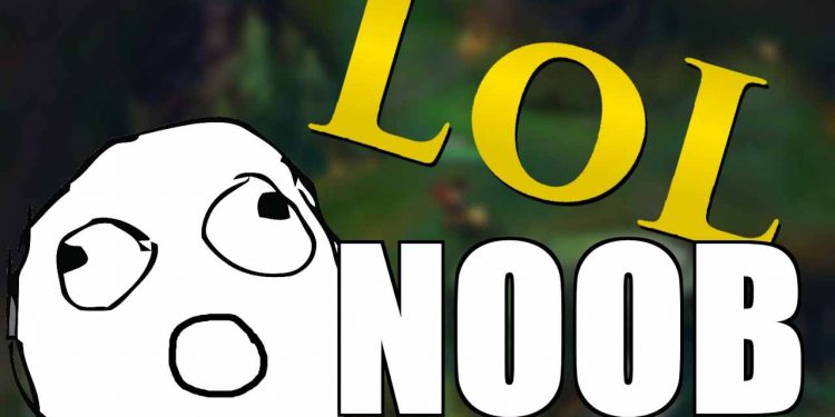 5 signs that you are a Noob player LoL 1