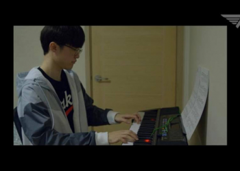 Faker showed off a warm, masculine voice when sings - Faker Singer 1