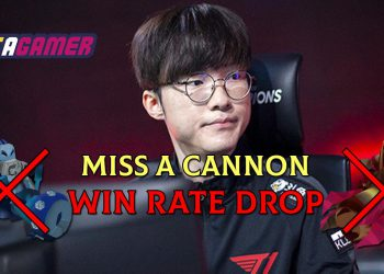 """Faker: """"Every time you miss a cannon, your percentage of win rate will be dropped"""" 1"""
