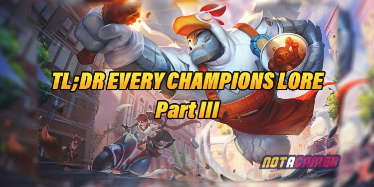 2020 Champions Lore for Those Who Are Too Lazy to Read [Part 3] 1