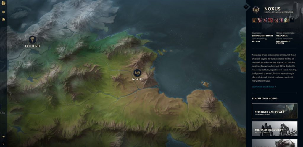 Runeterra MapThat Shows All The Factions And City-states | Why Bandle City Shifts Around On The Map? 2