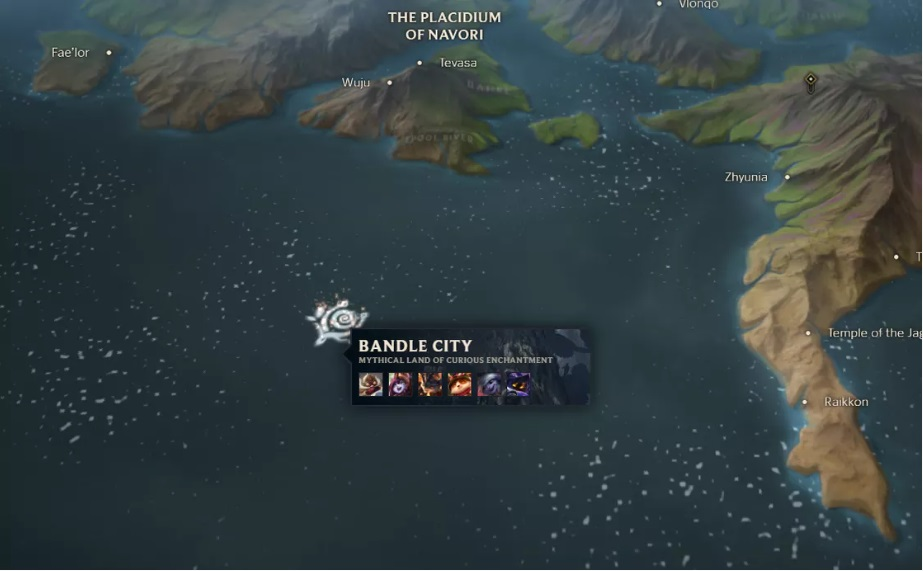 Runeterra MapThat Shows All The Factions And City-states | Why Bandle City Shifts Around On The Map? 5