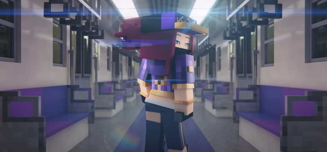 K/DA – POP/STARS Minecraft Style MV attracted more than 500.000 views in just one week. 1