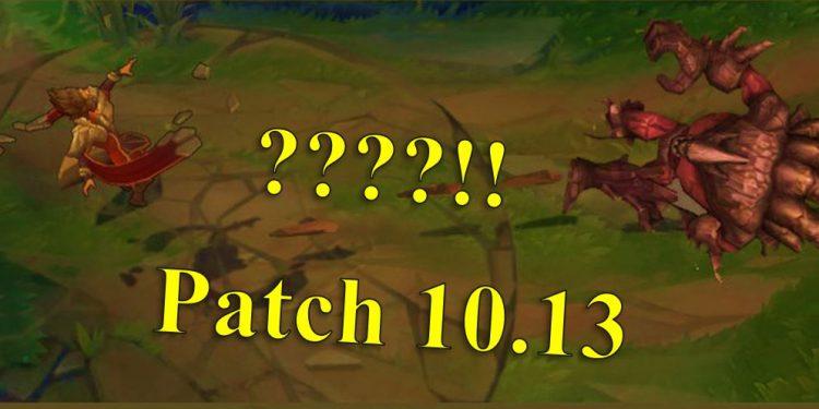 Patch 10.13: Danger Zone! Taliyah Will Throw Away Malphite!! 1