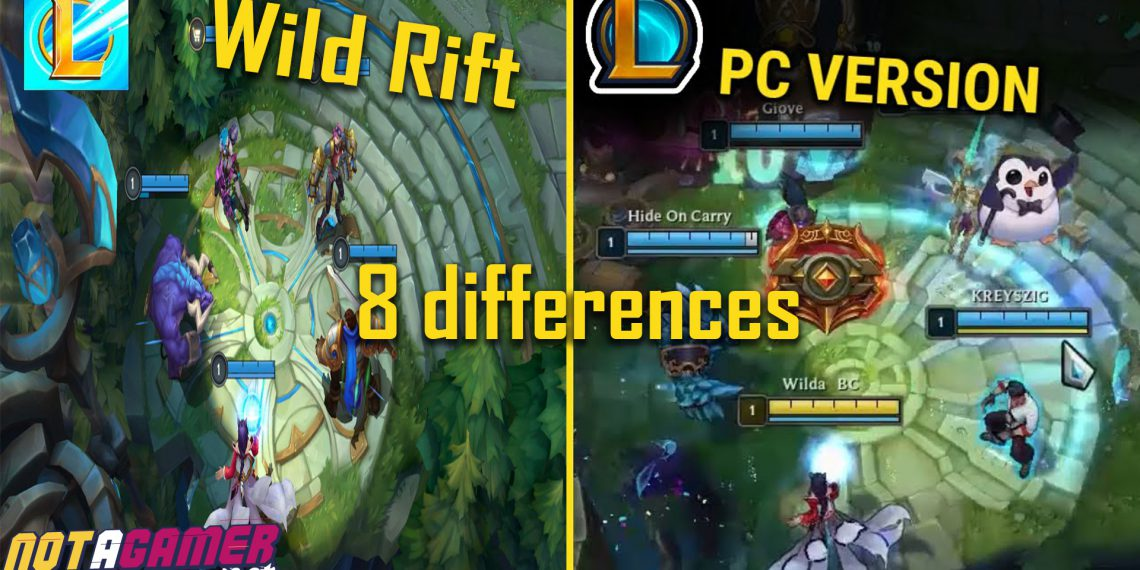 8 Differences That Players Has Pointed out in League of Legends: Wild Rift 1