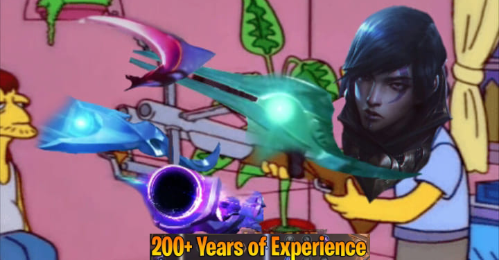 """Aphelios and """"200 Years of Experience"""" 1"""