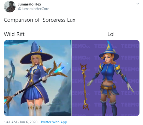 Riot Games is being strongly opposed because the female champion skins in Wild Rift are... not sexy enough 7