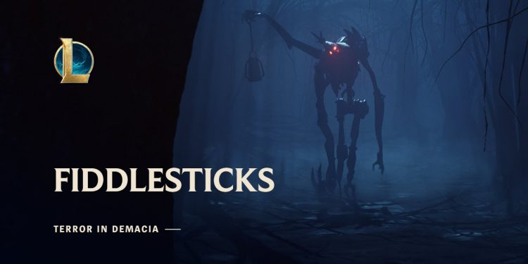 Fiddlesticks top lane is too OP right now ! 1