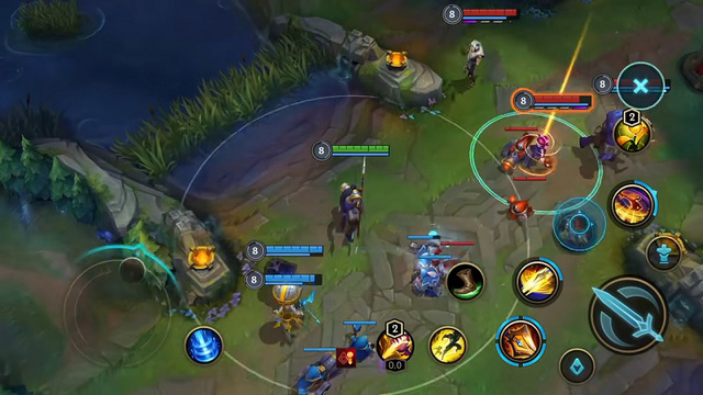 Wild Rift may have a touch-screen control style like Vainglory! 3