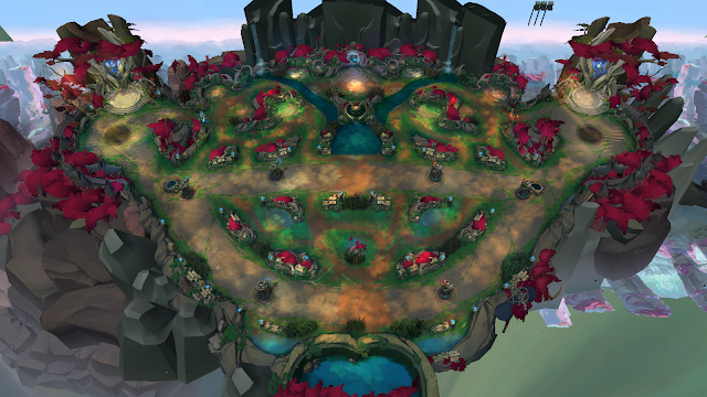Hot: Riot Officially Revealed the Nexus Blitz Mode with New Ionia Theme Map 1