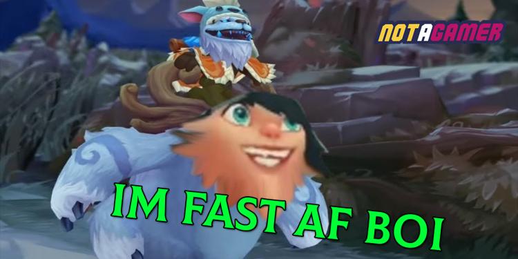 New buff make Honeyfruits become marijuana that makes Nunu high and runs faster than Sonic 1