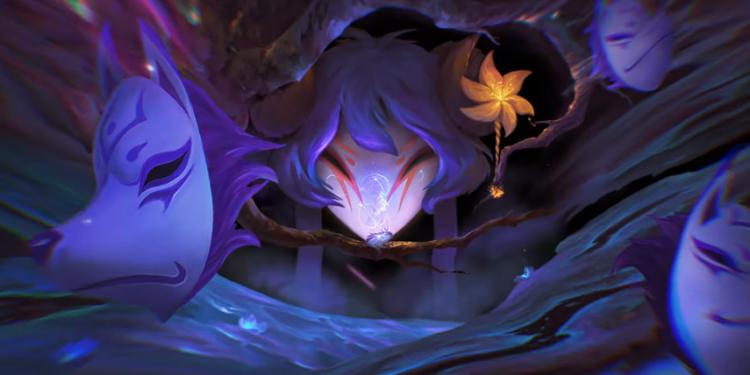 LoL Spirit Blossoms Skin Line Teased. Ahri, Yone, and Kindred Might Be the Chosen One. 1
