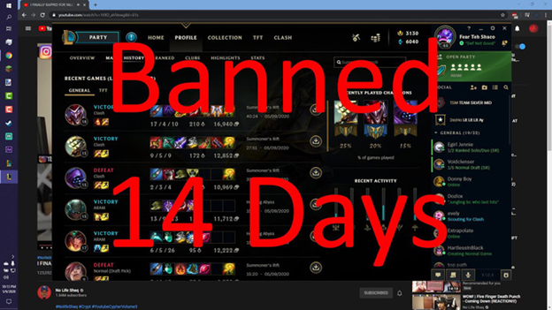 "Riot Games: ""too Much Feed Will Lead to Being Banned 14 Days"" 1"