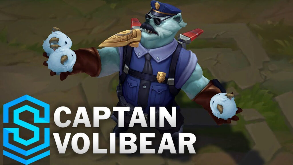racism for using Captain Volibear